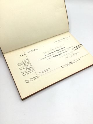 """""""LET'S GO!"""" 10 Years' Retrospect of the World War. Historical Official Statistics, Copies of Documents, and Intimate Anecdotes pertaining to the 1 Division, United States Army, from June 14th, 1917, to November 11th, 1918."""
