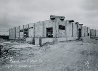 PHOTOGRAPHIC RECORD OF THE CONSTRUCTION OF LOS ANGELES DAIRY PLANTS. Culinary – Milk, Ice...
