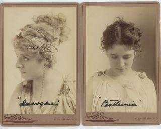 LETTERS AND CABINET CARDS OF THE SHAKESPEAREAN ACTRESS. Julia Marlowe