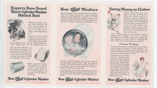 NEW THOR CYLINDER WASHER: The washing method experts have found best