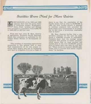 IMPERIAL COUNTY, CALIFORNIA, DAIRYING FOR PROFIT