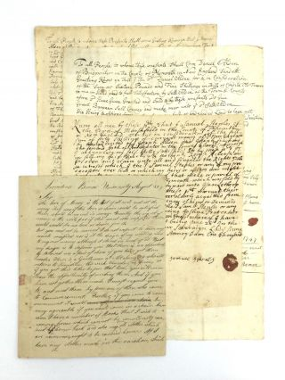 DOCUMENTS ASSOCIATED WITH THE DESCENDANTS OF A MAYFLOWER PASSENGER